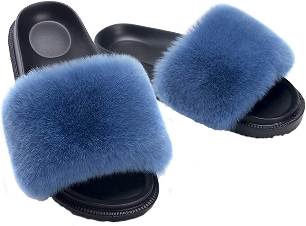 Comfort Fuzzy Sandals Shoes for Women