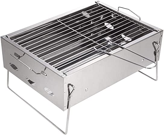 zhongleiss Barbecue Au Charbon Grill Portable Pratique Gril