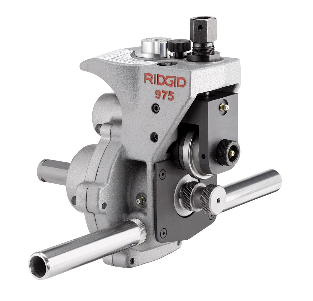 RIDGID 25638 975 Combo Roll Groover, Grooving Machine Mounts to RIDGID 300 Power Drive for Schedules 10, 40, and 80 Pipe