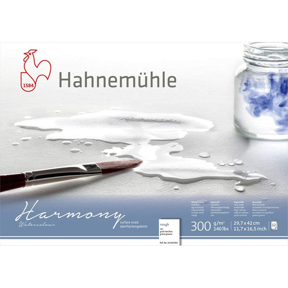 Hahnemuhle Harmony Watercolour Block Rough A3 10628841