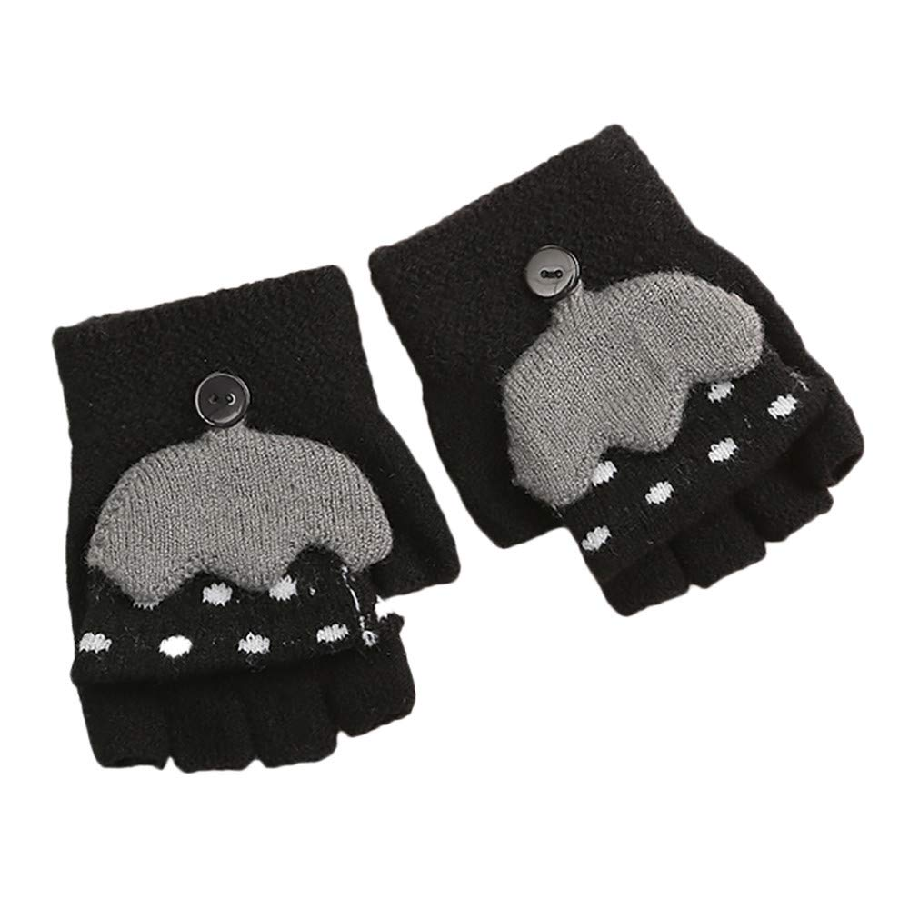 Baby Toddler Mittens Gloves Girls Winter Kids Gloves Anti-Scratch Lovely