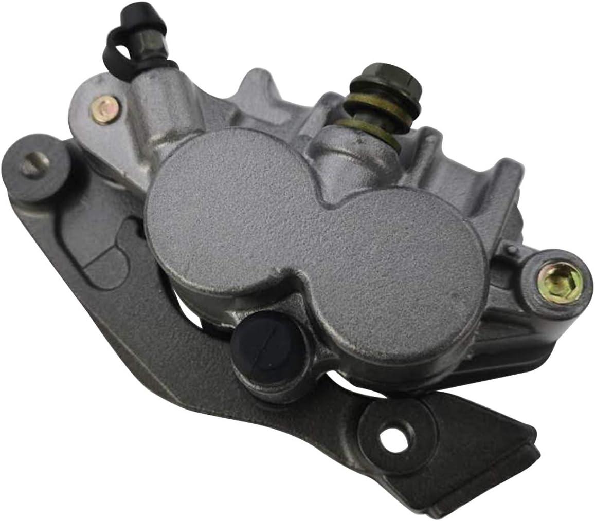 Mati Front Brake Caliper Assembly 45150-KZ4-J21 for Honda CR125R CR250R CR500R CRF125F//FB CRF150F CRF230F CRF250F CRF450R XR250L XR250R XR400R XR600R XR650R with Brake Pads