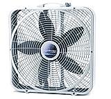 Lasko B20500 Weathershield Performance Box Fan, 20-Inch