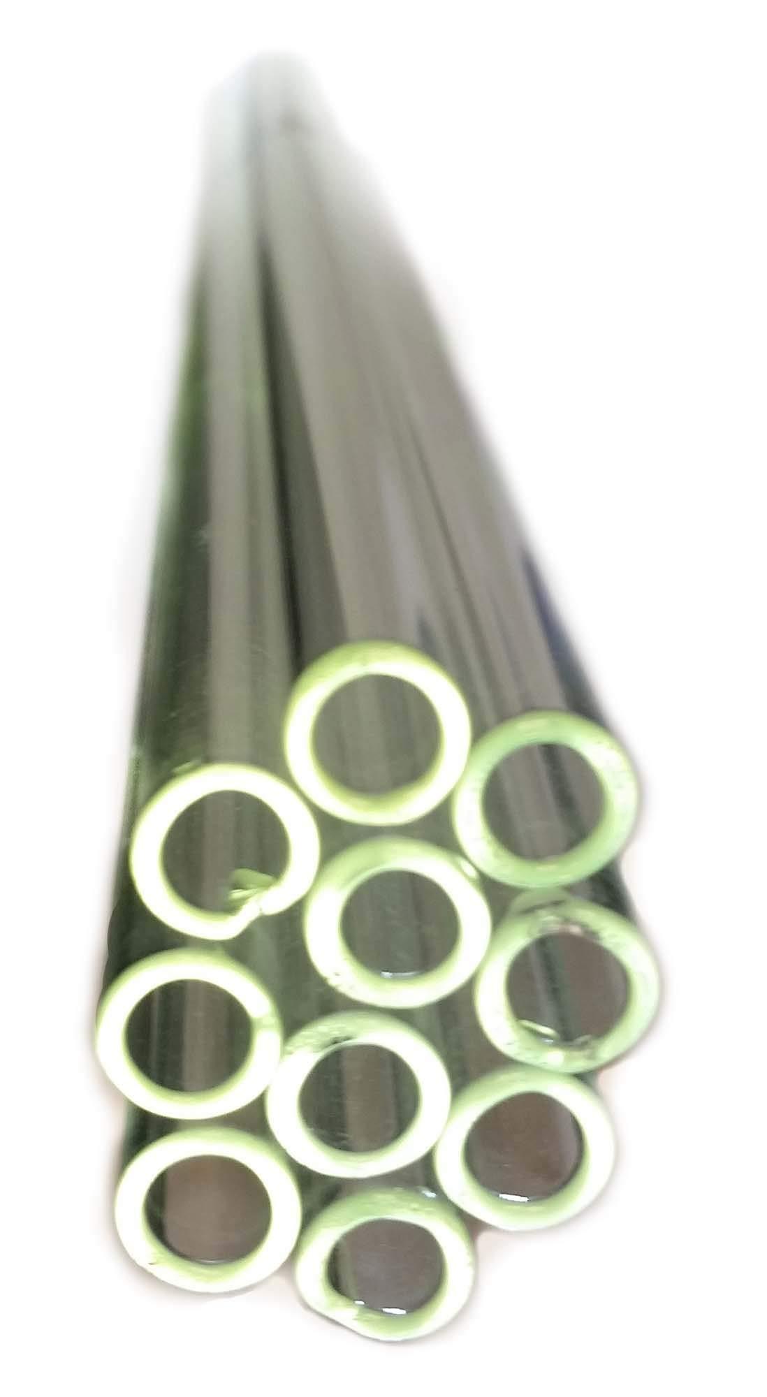 GSC International 7MMSLT-24-10-CS Flint Glass Tubing, 7mm Diameter, 24'' Long (100-Piece Case)