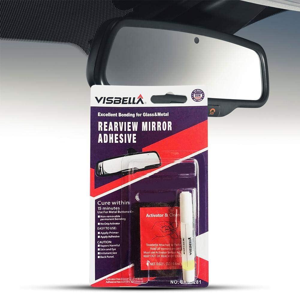 Adesivo per specchietto retrovisore per Auto Colla Permanente per specchietto retrovisore Permanente Professionale