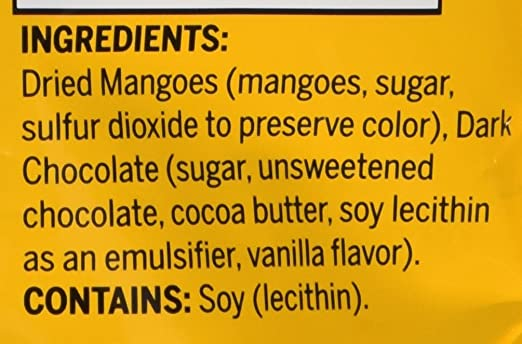 Kirkland Dark Chocolate Covered Mangoes 19.4 oz. (Pack of 2): Amazon.com: Grocery & Gourmet Food