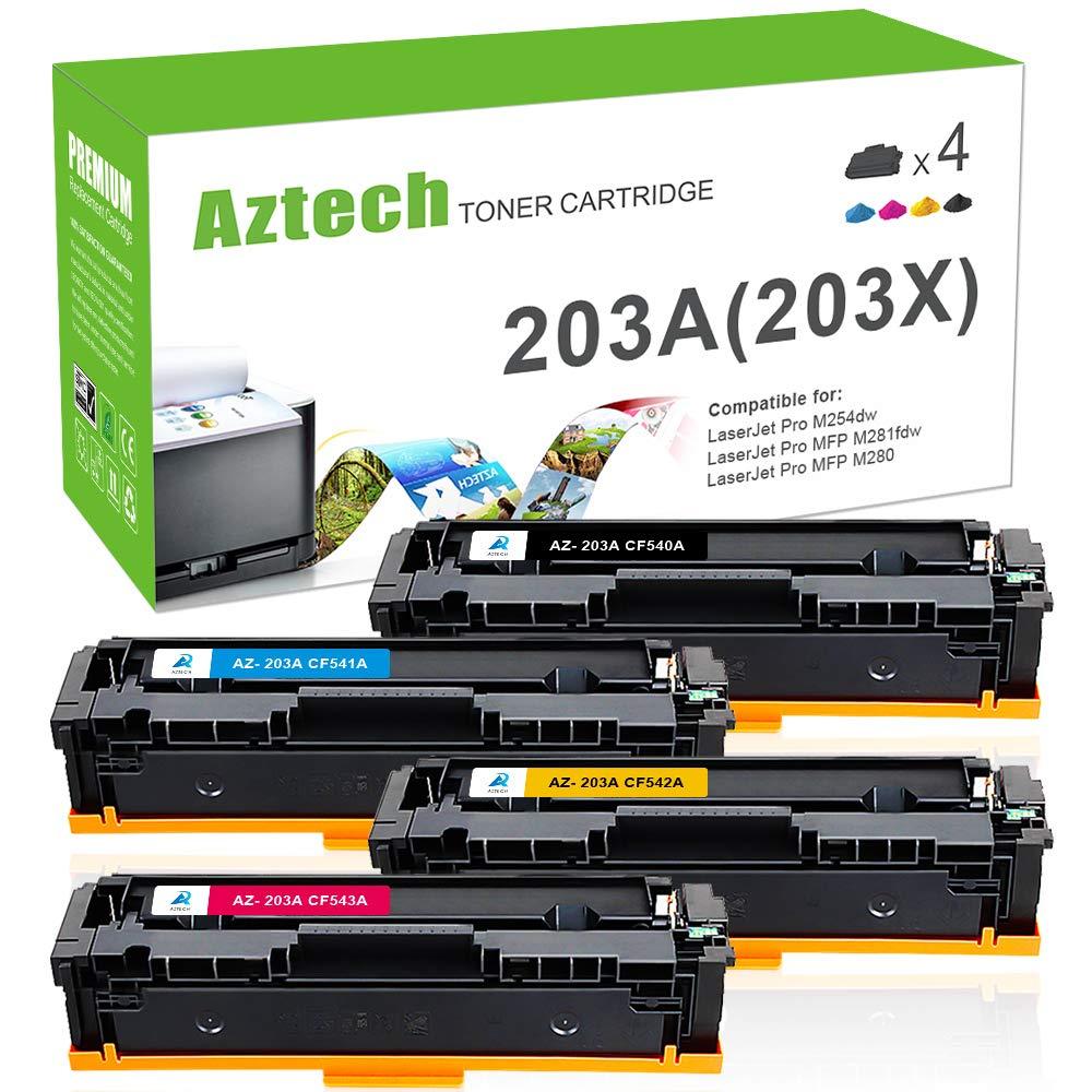 Aztech - Cartucho de tóner Compatible con impresoras HP 201X ...