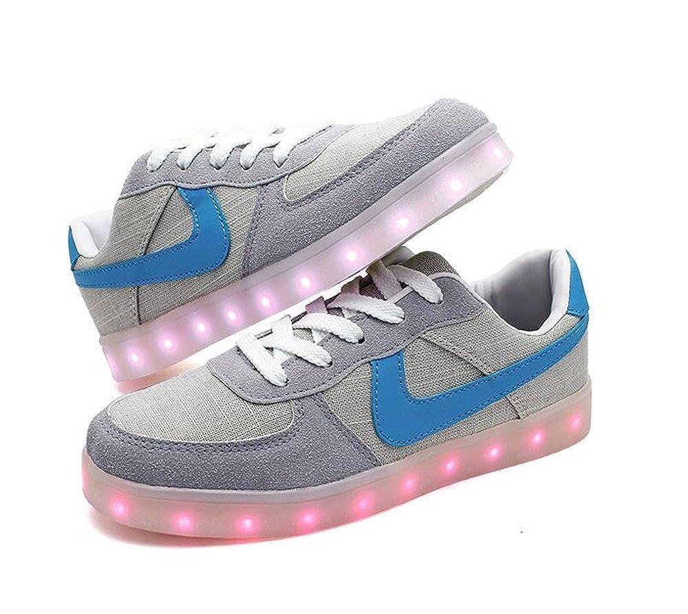 b12ecf3eb561 AnnabelZ LED Shoes USB Charging Light Up Shoes Shuffle Fashion Men Women  Sneakers Sports Shoes