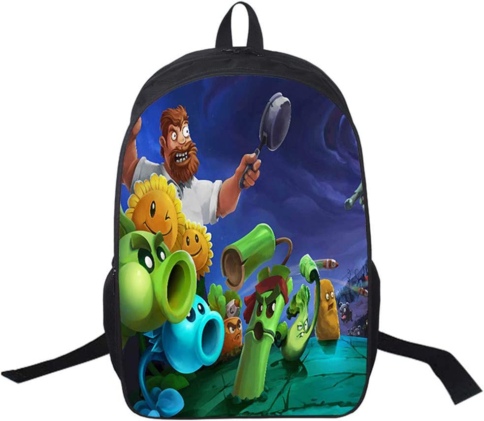 Gumstyle Plants vs. Zombies Backpack Shouder School Bag for Children 16
