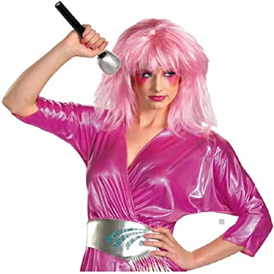 jem wig costume accessory adult jem the holograms halloween