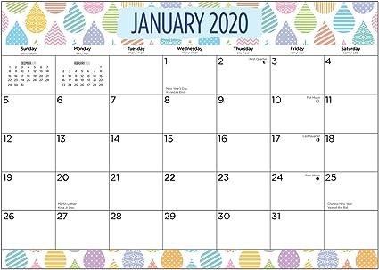 Calendario mensual magnético 2020 de Bright Day Calendars ...