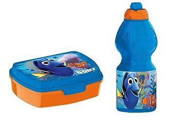 dory, 0377, Sandwichera y botella de agua disney dory. Productos de plástico .