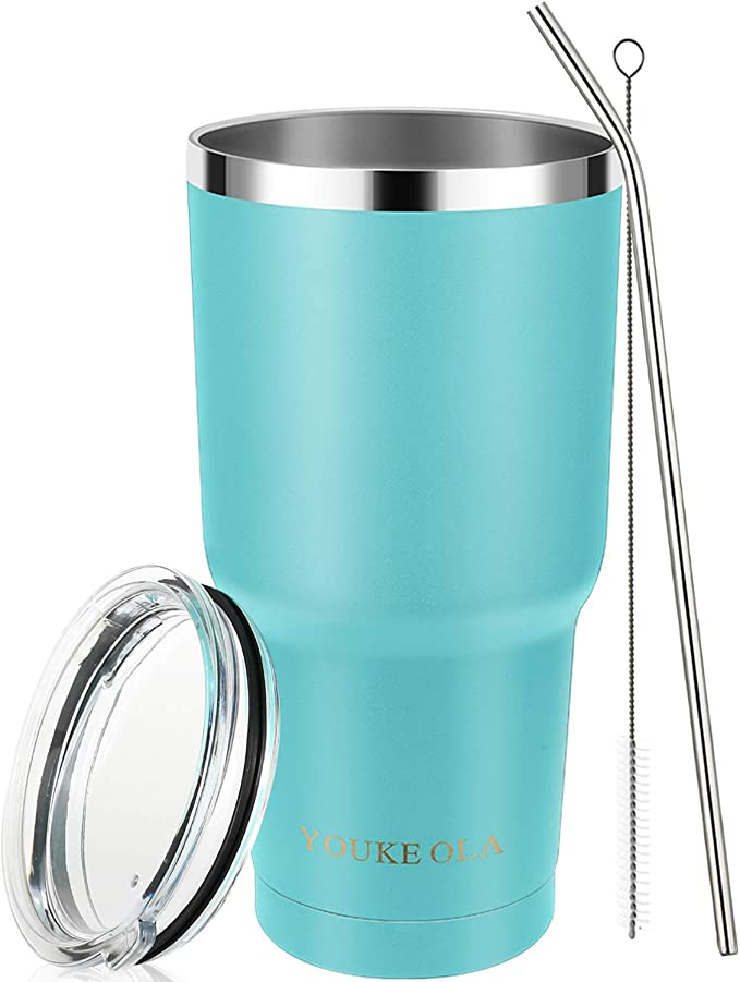 NCAA North Carolina State Simple Modern 30oz Cruiser Tumbler with Clear Flip Lid Vacuum Insulated Water Flask Travel Coffee Tumbler 18//8 Stainless Steel NC State