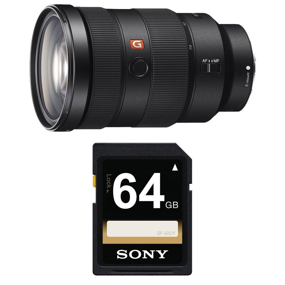 Sony FE 24-70mm f/2.8 GM Lens (SD Card Bundle)