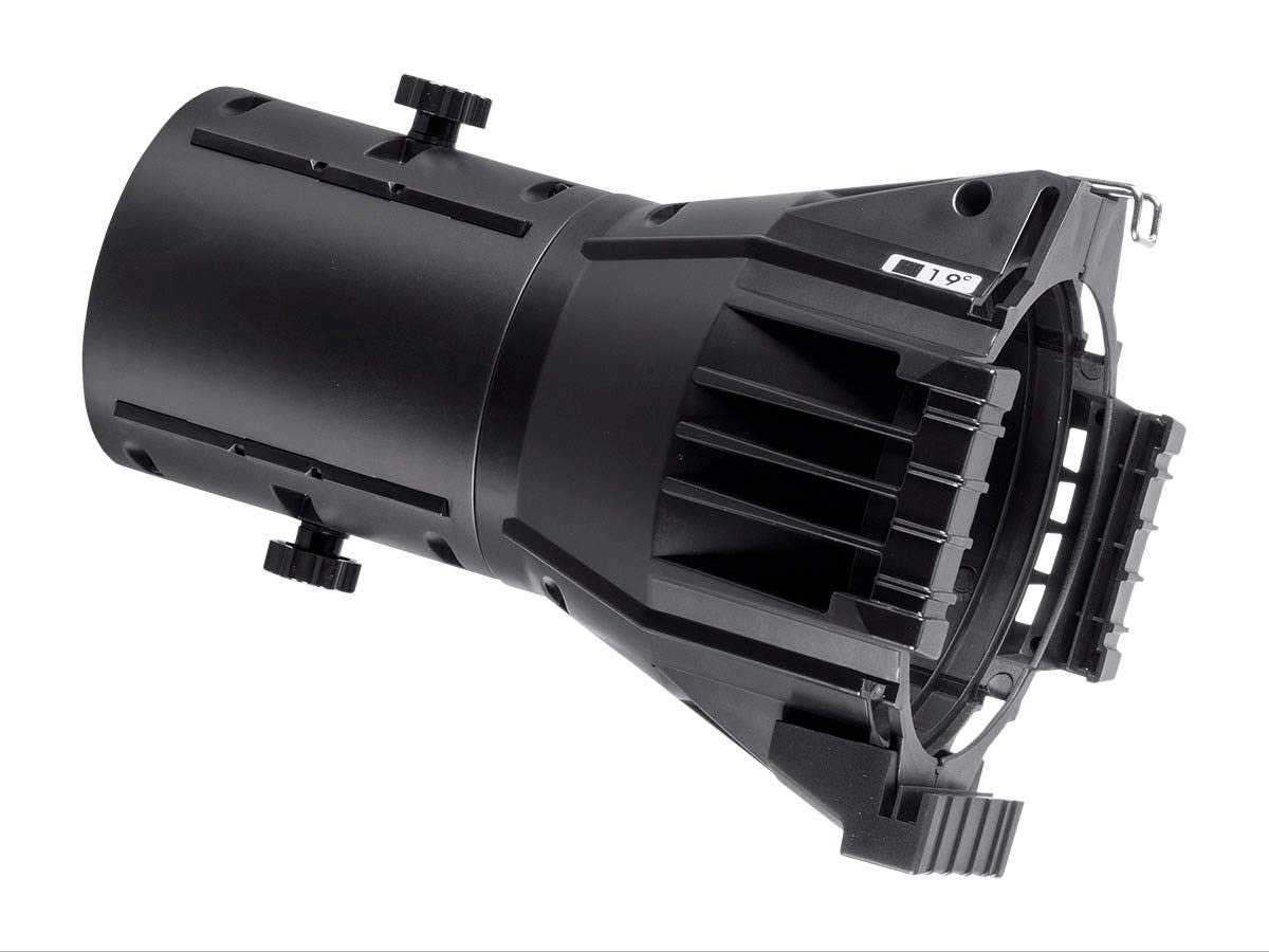 Light Weight ABS Lens Tube Monoprice Ellipsoidal Replacement Lens 50 Degree Stage Right Series ABS housing