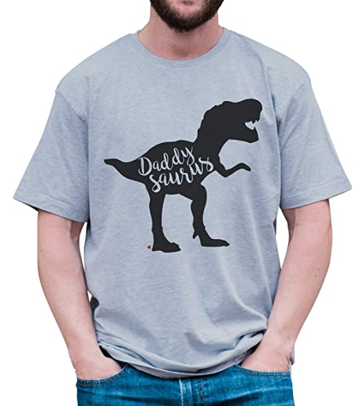 e150b69f958904 Amazon.com  7 ate 9 Apparel Men s Daddysaurus Dinosaur T-Shirt  Clothing