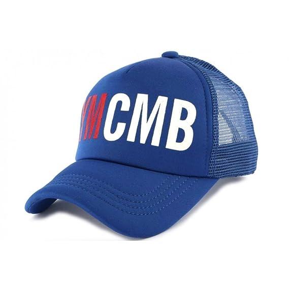 détaillant en ligne d8408 3a6b0 YMCMB Casquette Trucker Bleu - Mixte: Amazon.fr: Vêtements ...