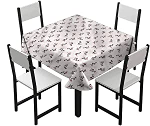 Zara Henry Shark Dust-Proof Tablecloth Aggressive Hungry Fishes W36 xL36 Various Bright Color Patterns