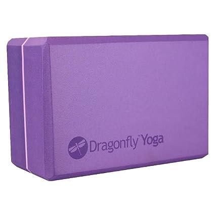 DragonFly Yoga Foam Block, Purple, 4-Inch: Amazon.es ...