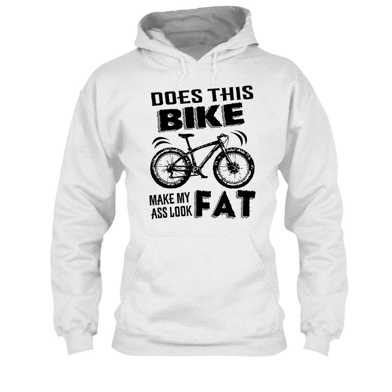 Light Orange Does This Bike Make My Ass Look Fat Shirt Tee Shirt Mens Shirt