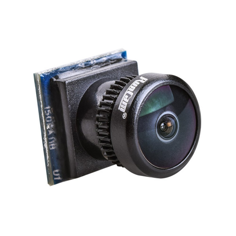 RunCam Nano FVP Camera Mini Cam 650TVL 4:3 1/3'' CMOS 2.1mm FOV 160 NTSC DC 3.5-5.5V for FPV Drone Quadcopter by Crazepony