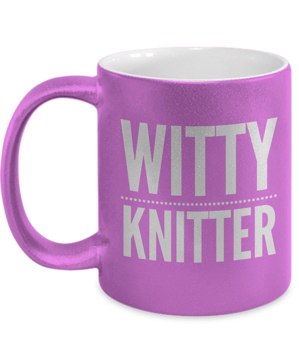 Witty Knitter mug