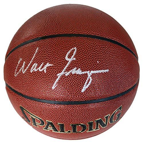 Walt Clyde Frazier New York Knicks Signed Autographed Spalding Basketball CAS COA ()