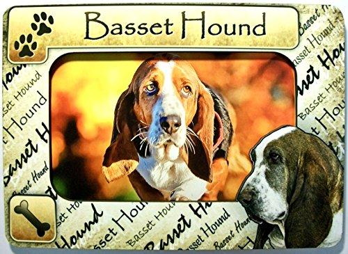 Basset Hound Picture Frame Fridge (Basset Hound Photo Frame)