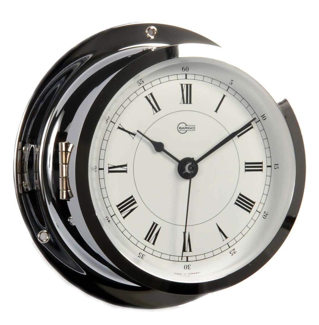 Barigo Star Clock chrome