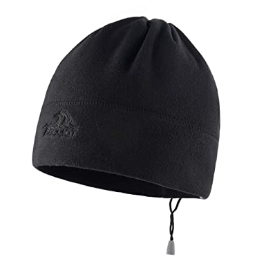 Beanie Cap Outdoor Warm and Breathable Ski Riding Sports Windproof  Lightweight Winter Hat Black dd97a8364f3