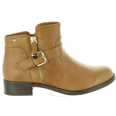 Botines de Mujer MARIA MARE 61171 C21010 NAPAL Taupe Talla 36: Amazon.es: Zapatos y complementos