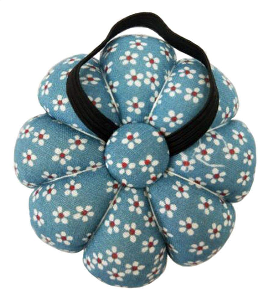 Blue GAMESPFF Pincushions Sewing with Wristband Cute Wrist Pin Cushion for Daily Needlework