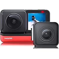 insta360 CINAKGP/A ONE R Twin Edition Dual-Lens 360 Mod Camera, Multicolour