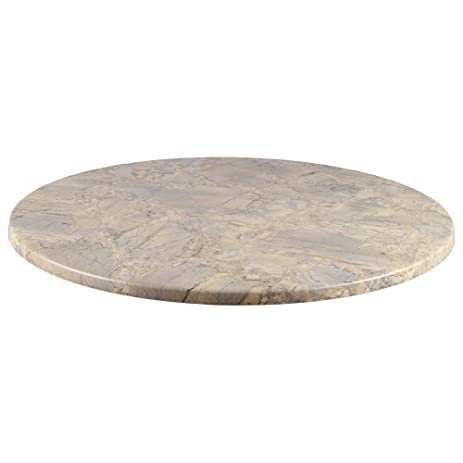 Amazoncom Duratop Round Table Top In Marble Garden Outdoor - 36 round marble table top