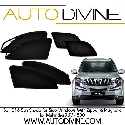 Mahindra Xuv 500 Car Accessories Side Window Zipper Magnetic Sun