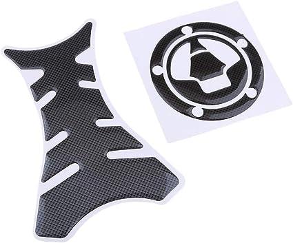 Homyl Autocollants De Protection Tampon R/éservoir De Moto #3