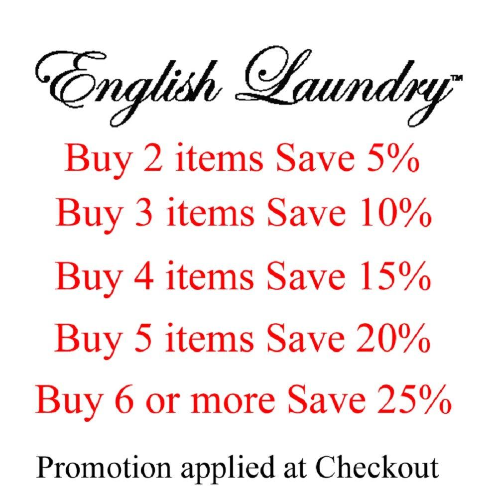 English Laundry Dress Shirt Tie Combo Slim Fit Blue