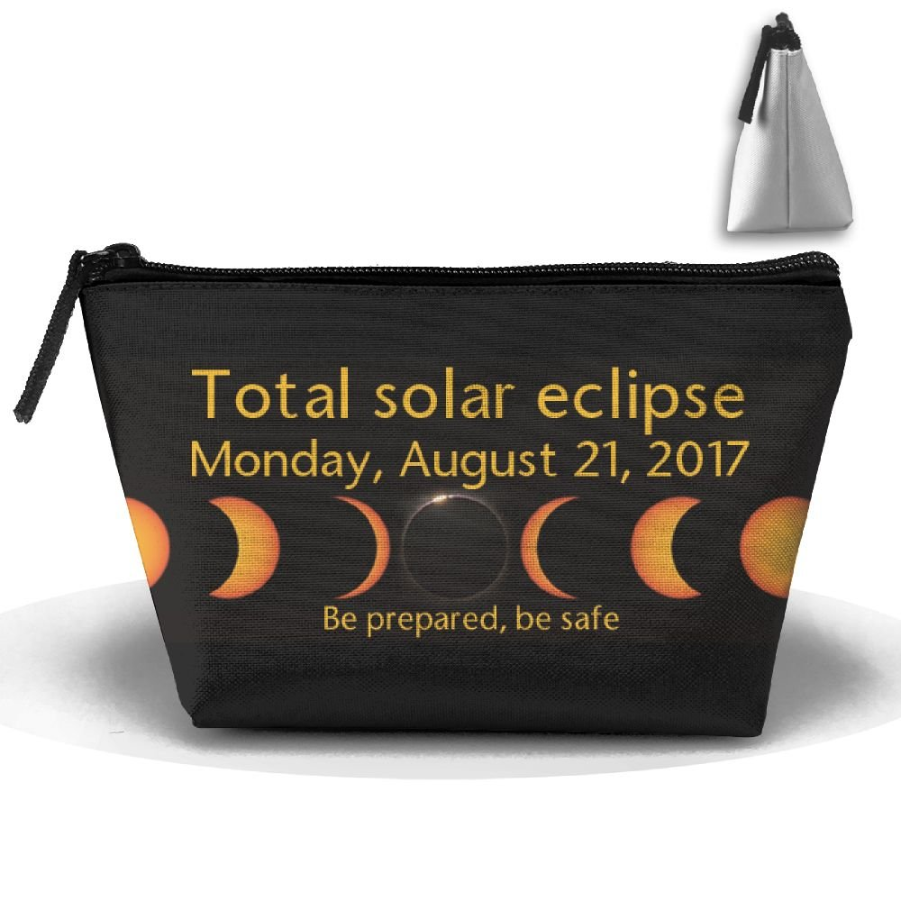 WQWSVX Come To The Dark Side Total Solar Eclipse Fashion Travel Bag Trapezoid
