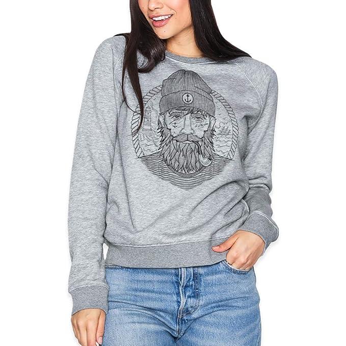 VIENTO Real Captain Damen Sweatshirt  Amazon.de  Bekleidung c2069d7c74
