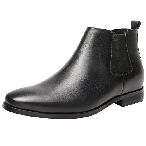 d2ed20d105ac CHAMARIPA Boots Height Increasing Shoes Mens Hidden Heel Leather - 7 cm  Taller-H82B42K015D  Amazon.co.uk  Shoes   Bags