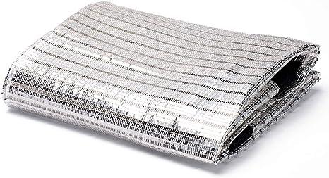 CHENGXI Sombra de Tela Sunblock Impermeable Papel de Aluminio ...