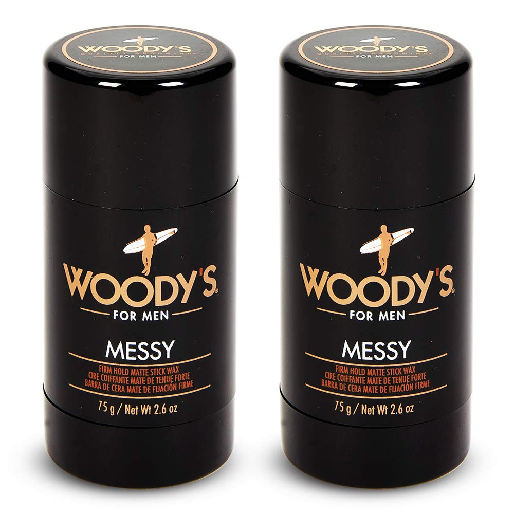 Woody's Messy Styling Stick, 2.6 Ounce, 2 pack