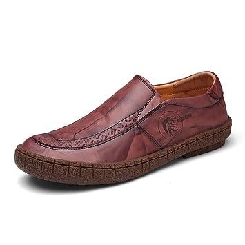 Zapatos para Hombres Zapatos Casuales Four Seasons Loafers & Slip-Ons Hombres cómodos Zapatos Perezosos