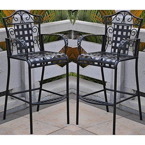 wrought iron patio dining set - 3