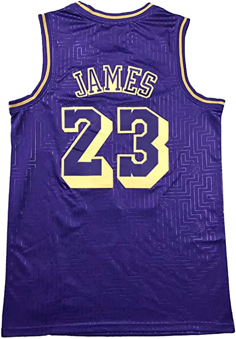 Redlife 23 La Lakers Lebron James Basketball Jersey Special Design Edition Basketball Collection Vest Purple Xxl Amazon Co Uk Sports Outdoors