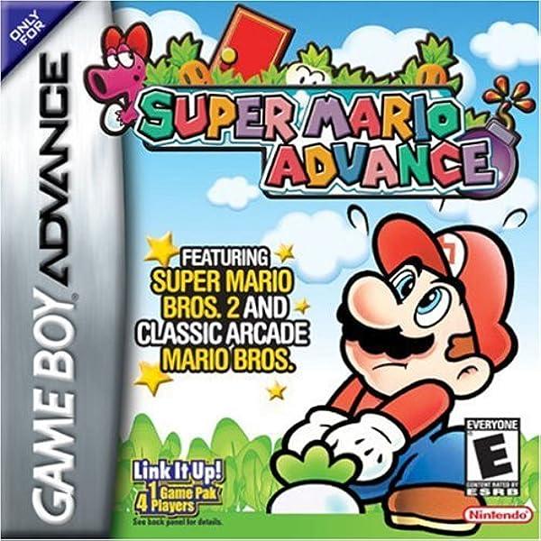 Amazon Com Super Mario Advance Game Boy Advance Video Games