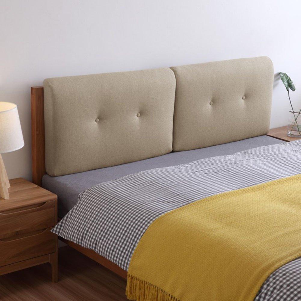 QIANGDA クッション ベッドの背もたれヘッドボード リネン スポンジライニング バンパー ウォッシャブル ダブルベッド、 10色、 4サイズあり、 1項目 (色 : 7#, サイズ さいず : 75 x 50 x 10cm) B07D3NWQ3R 75 x 50 x 10cm|7# 7# 75 x 50 x 10cm