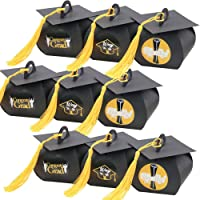 Graduation Gift Box Party Supplies 2021 Decorations - Graduation Cap Treat Box Congrats Grad Gift Box for Class Of 2021…