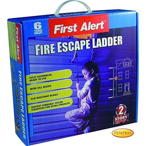 Rettungsleiter Feuerleiter First Alert 2 Stockwerke/ Etagen 4, 3m Sicherheitsleiter