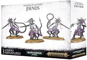 Games Workshop Warhammer AoS & 40k - Daemons of Slaanesh Fiends